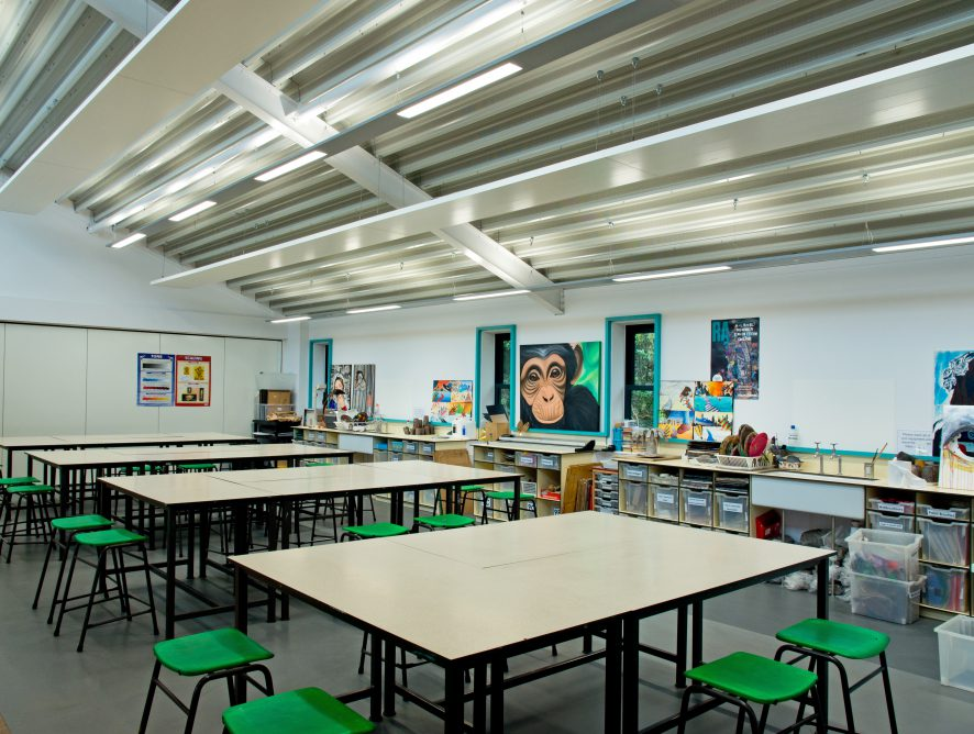 St Clement Danes School, Chorleywood – Art & Maths Teaching Block