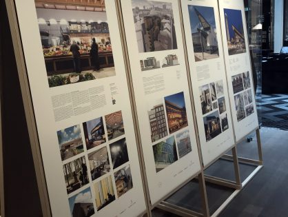 Architecture Leeds: RIBA Yorkshire and LSA pop-up exhibition opening at Victoria Gate
