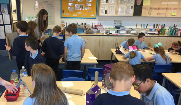 Architecture Ambassador: Part 2 - SDA visits Kingswood Primary School