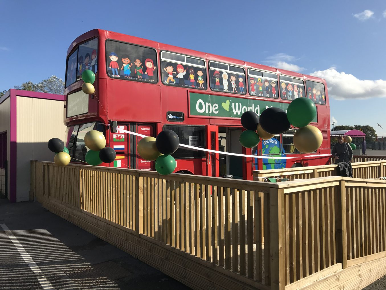 Library Bus Opening